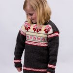 Free Knitting Pattern for a Girls Fair Isle Tunic