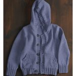 Free Knitting Pattern for a Kid's Hoodie