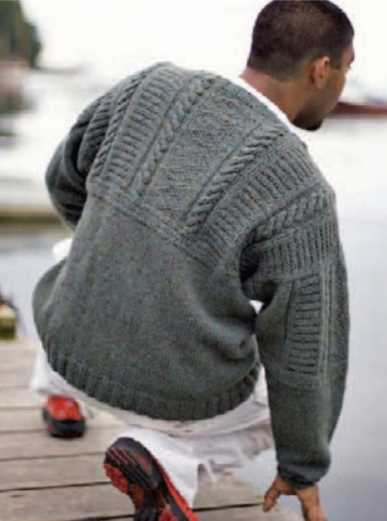a210c9db3ab3 24+ Men s Cable Knit Sweater Pattern Free ⋆ Knitting Bee