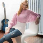 Free Knitting Pattern for a Mohair Bolero