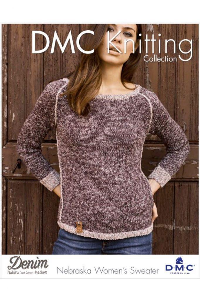 Free Knitting Pattern For A Nebraska Womens Sweater Knitting Bee