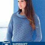 Free Knitting Pattern for a Ripple Stitch Pullover