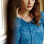 Free Knitting Pattern for a Round-Neck Cardigan