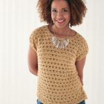 Free Knitting Pattern for a Shell Stitch Top