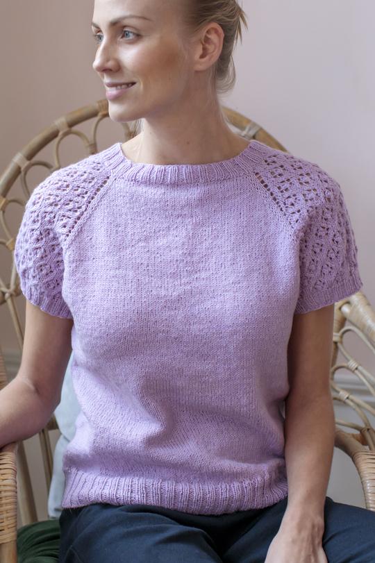 Free free ladies lace top knitting pattern Patterns ⋆ Page ...