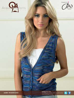 Free Knitting Pattern for a Simple Waistcoat
