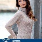 Free Knitting Pattern for a Sporty Pullover.
