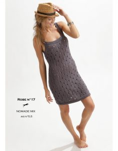 Free knitting pattern for a strappy sun dress