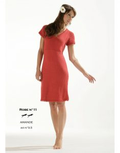 Free knitting pattern for an easy dress