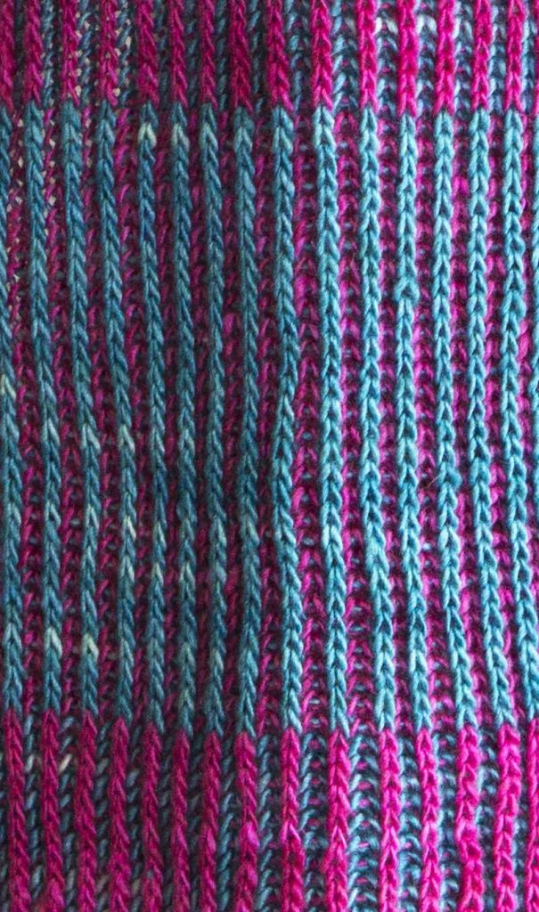 Free Knitting Pattern for a Byberry Scarf ⋆ Knitting Bee