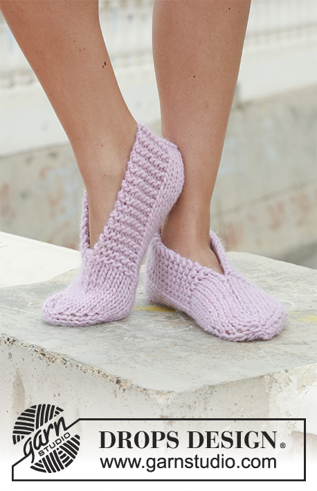 Easy slippers to knit