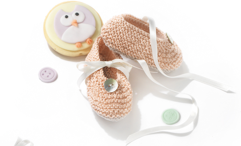 Free Knitting Pattern for Baby Booties