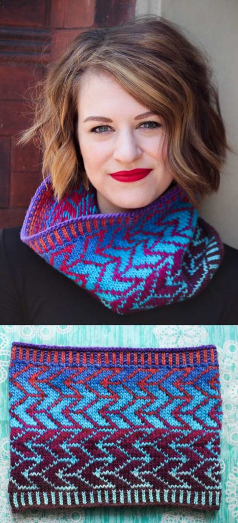 Free Knitting Pattern for Fenton's Arrow a Fair Isle Cowl