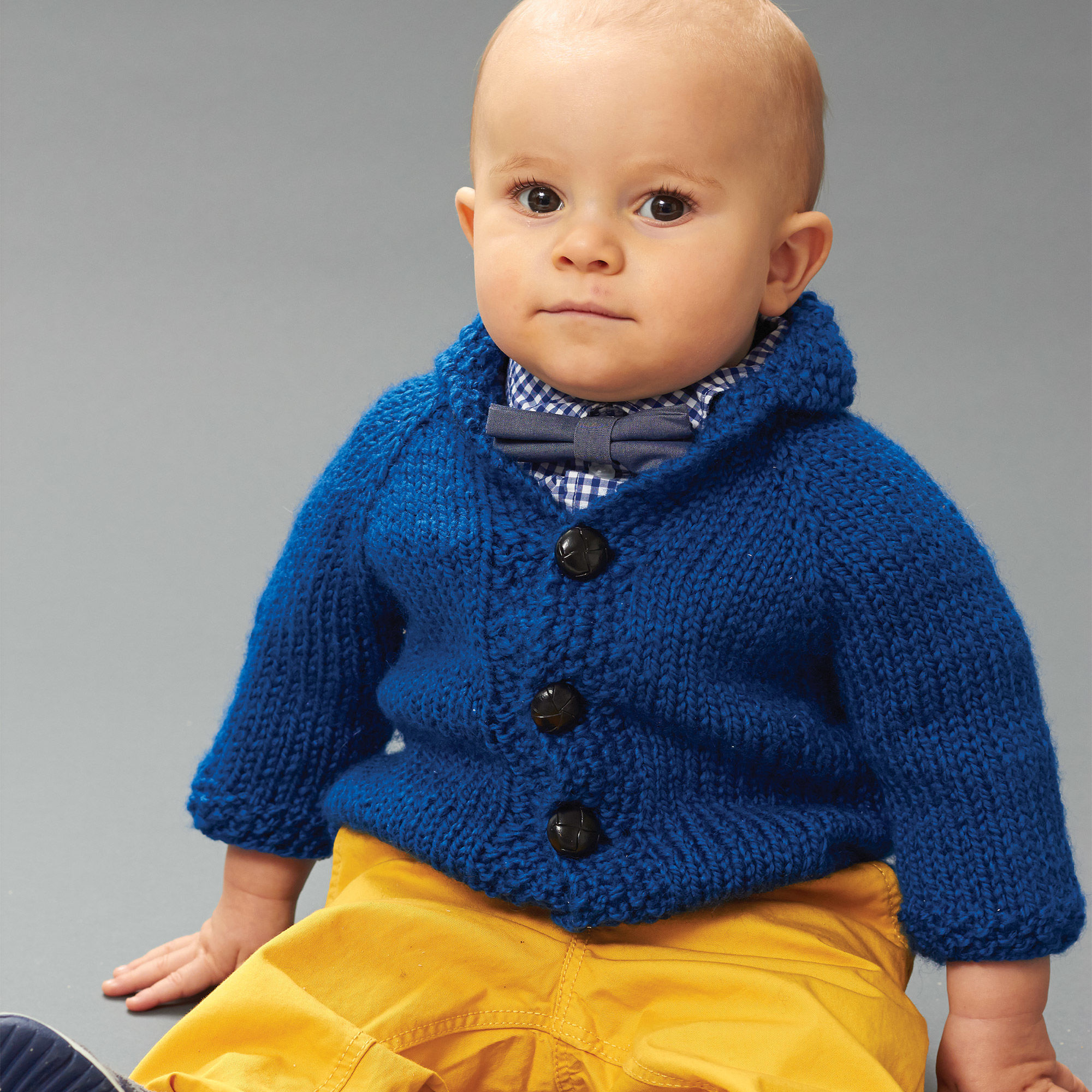 Free Knitting Pattern for Patons Little Gentleman Jacket ⋆ Knitting Bee