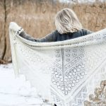 Free Knitting Pattern for a Beautiful Lace Shawl