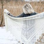 Free Knitting Pattern for a Beautiful Lace Shawl