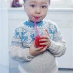 Free Knitting Pattern for a Boy's Fairisle Yoke Sweater