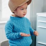 Free Knitting Pattern for a Boy's Raglan Sweater