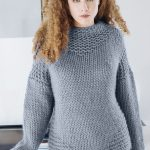 Free Knitting Pattern for a Bulky Yarn Sweater