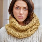 Free Knitting Pattern for a Cable Askham Cowl