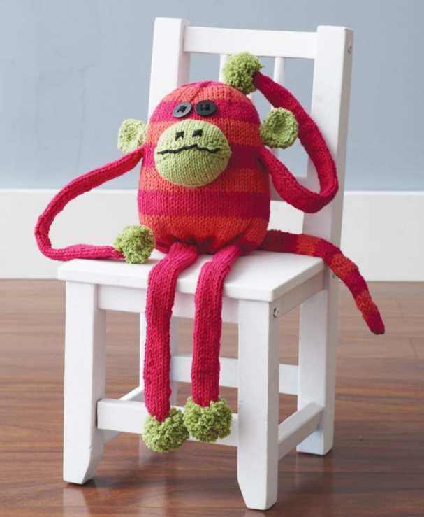 Free Knitting Pattern for a Chunky Monkey