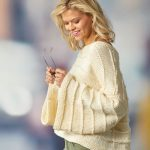 Free Knitting Pattern for a Cozy Big Bell Sweater