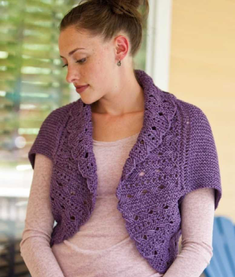 Shrugs Boleros Knitting Bee 22 Free Knitting Patterns
