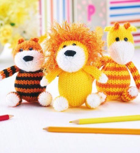 Free free tiger knitting patterns Patterns ⋆ Knitting Bee (3 free ...