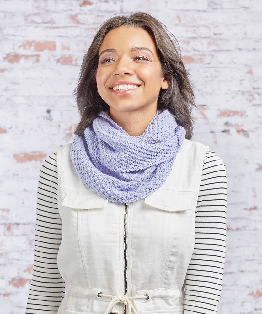 Free Knitting Pattern for a Perfection Knit Cowl