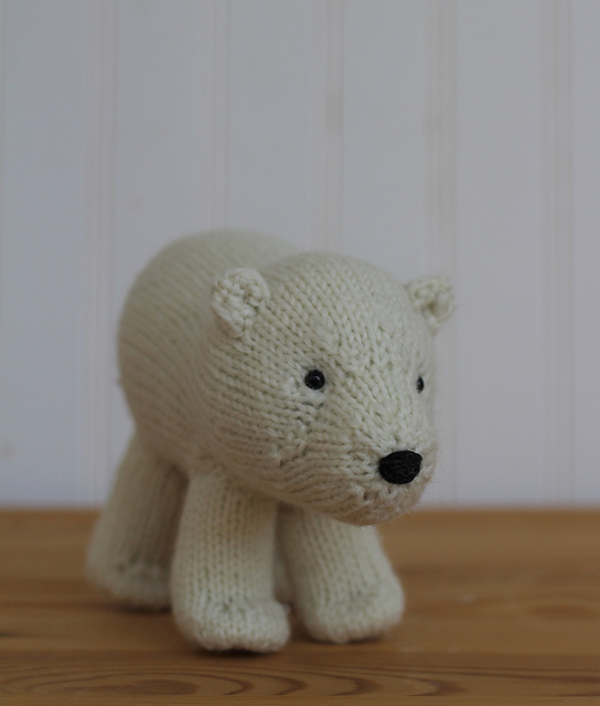 Free Knitting Pattern for a Polar Bear