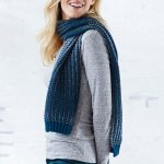 Free Knitting Pattern for a Slip Stitch Scarf
