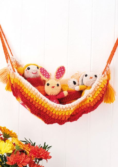 Free Knitting Pattern For A Toy Hammock Knitting Bee