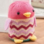 Free Knitting Pattern for an Owl Doorstop Dora
