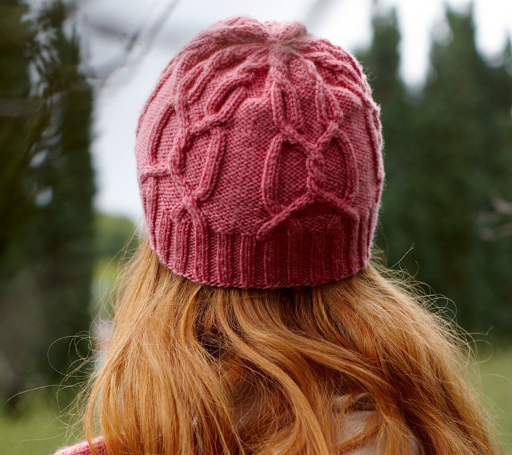 Free Knitting Pattern for the Alex Set Cabled Hat