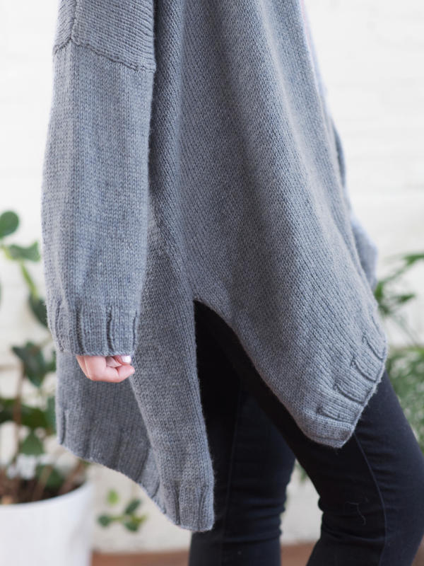 Free Knitting Patterns For Ava A One Size Fits All Cardigan 2