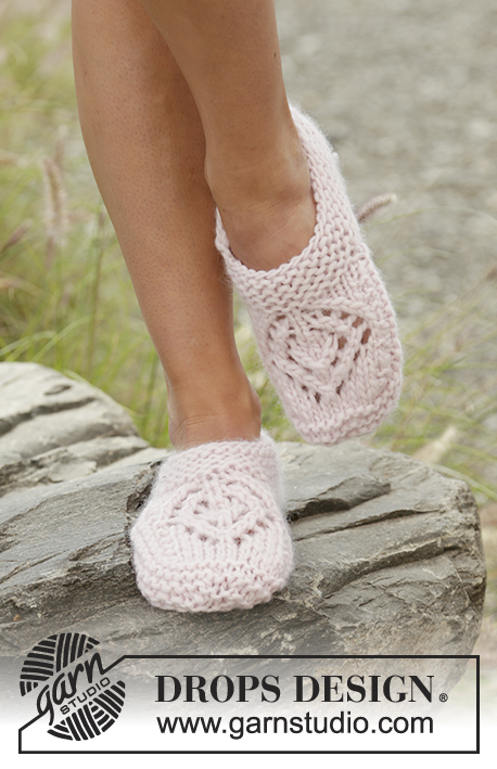 Free Knitting Patterns for Sally's Way Lace Slippers