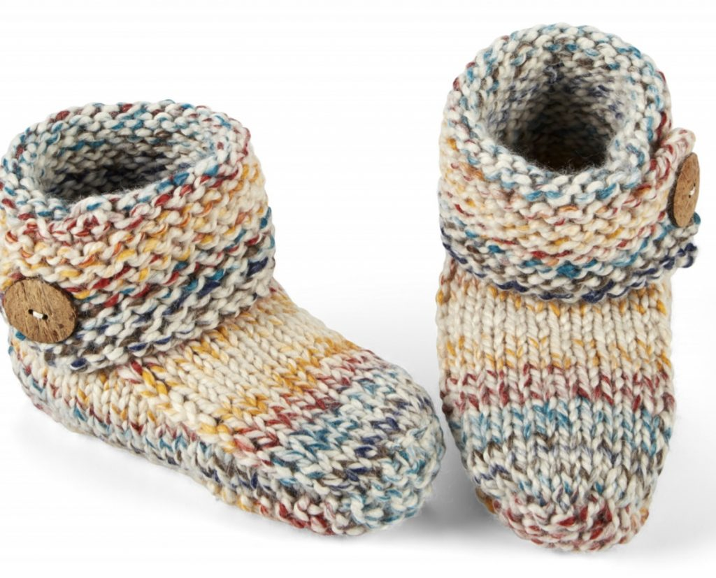 Free Knitting Patterns for Toasty Toe Warmers