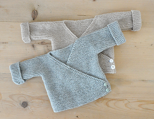 Free Knitting Pattern for Baby Cardigans
