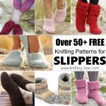 Over 50+ Free Knitting Patterns for Slippers