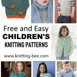 Easy Children's Knitting Patterns Free