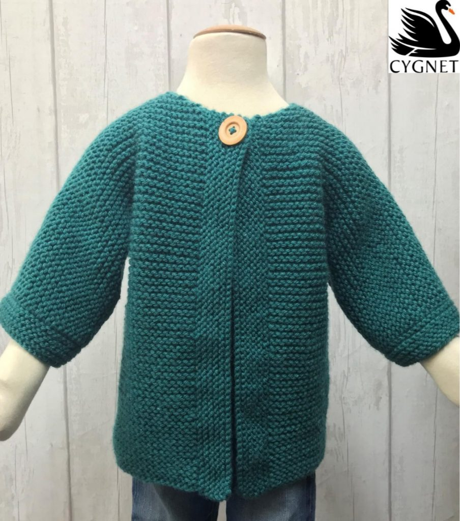 Easy Children's Knitting Patterns Free Cardigan