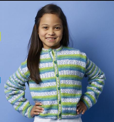 Easy Children's Knitting Patterns Free Cardigan