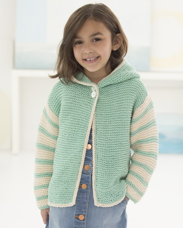 Easy Children's Knitting Patterns Free for a Hoodie