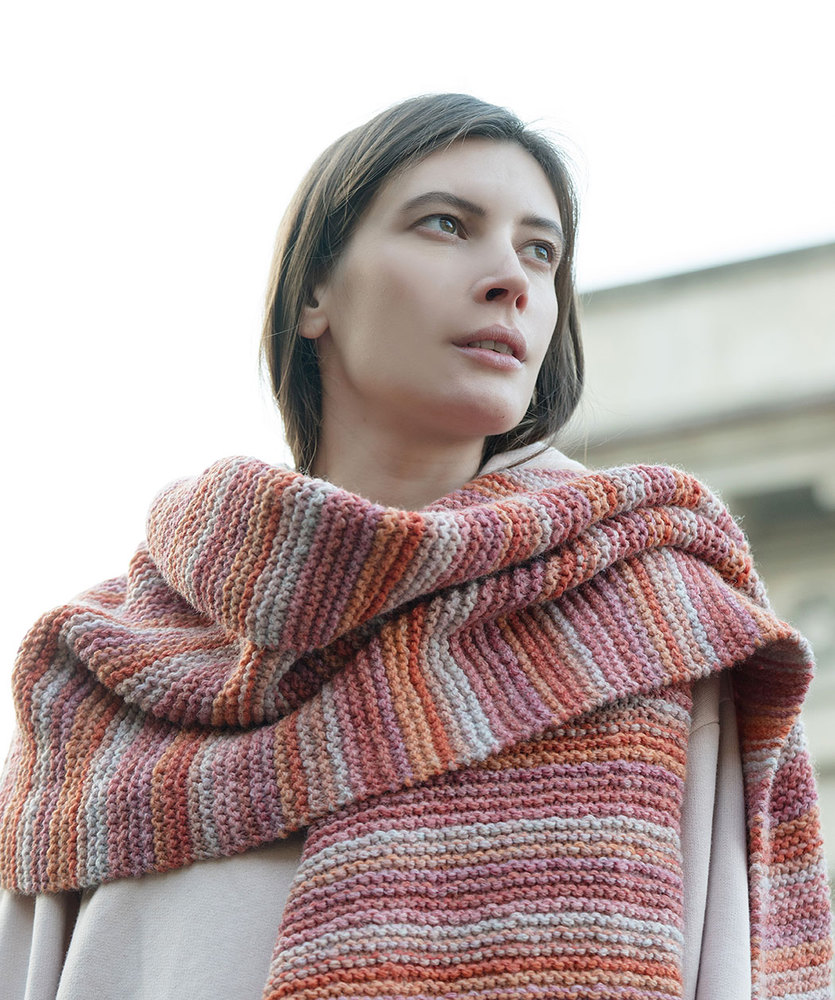Easy Scarf Knitting Patterns For Beginners Knitting Bee