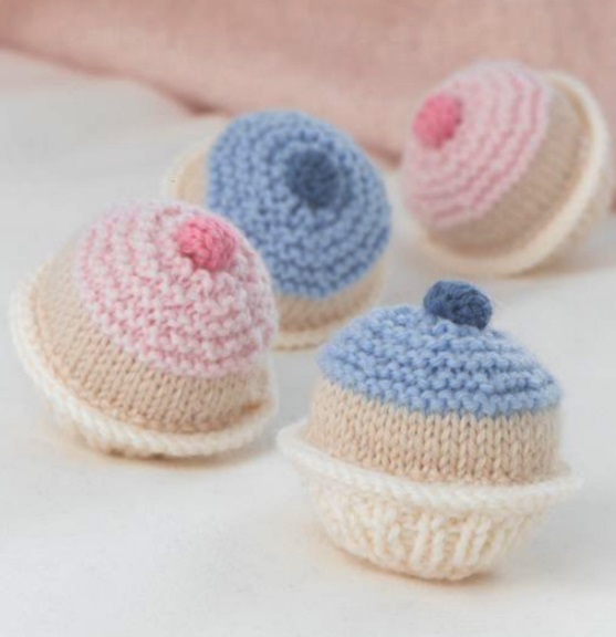 Free Free Knitted Cupcake Patterns Patterns Knitting Bee 7 Free