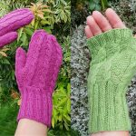 Free Knitting Pattern for Kinross Mittens