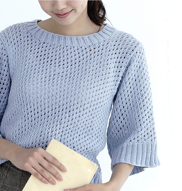 Free Knitting Pattern for Olivia Tee