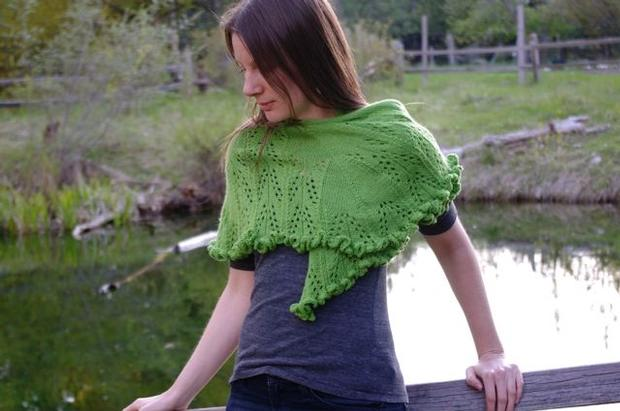Free Knitting Pattern for Roadtrip Shawl