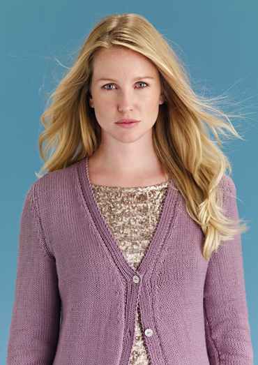 Free Knitting Pattern for a Beginners Cardigan