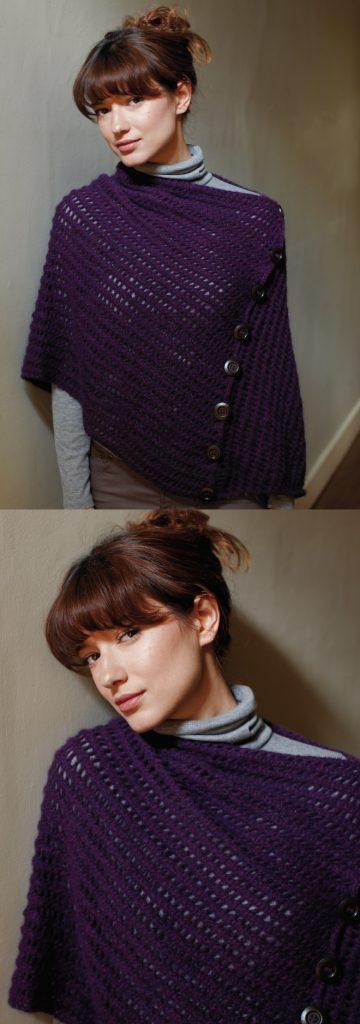 Beginner Knitting Patterns for Wraps